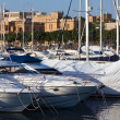 Stock Photo: Yachts lying at Marsamxett harbou
