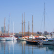 Royalty-Free Stock Photo: Yachts in Port Vell. Barcelona