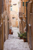 Old street of Valletta. Malta — Stock Photo