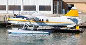 Hydroplane in dock — Stock Photo