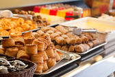Pastry in buffet — Stock Photo
