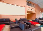 Interior da sala de estar de luxo — Foto Stock