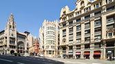 バルセロナ、スペインのビュー — ストック写真