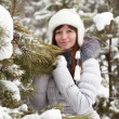 Winter portrait of woman — Stock Photo #7559724