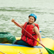 Rafting on the raft — Stock Photo #7559882