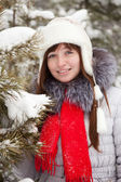 Winter portrait of girl — Stock Photo