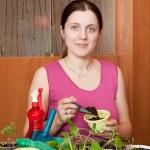 Female gardener — Stock Photo #7599324