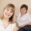 Two happy girls — Stock Photo #7610848