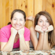 Mother and teen daughter — Stock Photo #7613300