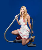 Sexy maid — Stock Photo