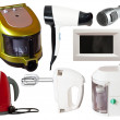 Set of household appliances — Stock Photo #7632181