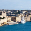 Vittoriosa and Grand Harbou — Stock fotografie