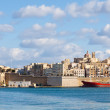 Senglea and Three cities — Stock Photo