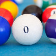 2012 made of billiard-balls — Stock Photo