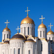 Domes of Assumption cathedral — Foto de stock #7632594
