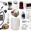 Stock Photo: Set of household appliances