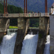 Hydro-electric power station — Stock Photo #7632749