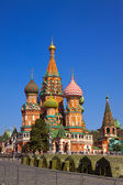 Intercession Cathedral at Red Square — Stok fotoğraf