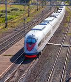 скоростной поезд — Стоковое фото