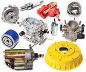 Set of automotive spare parts — Stock Photo