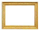 Old gilded frame — Stock Photo