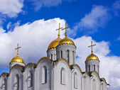 Closeup of Assumption cathedral — Stock Photo