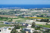 Top view of Malta country — Stock Photo