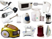 Set of household appliances — Stock Photo
