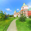 Orthodox church in the light of the autumn sun — Stock Photo