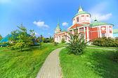 Orthodox church in the light of the autumn sun — Stock Photo