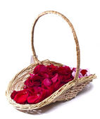 Basket for a holiday — Foto de Stock