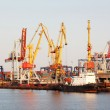 Sea Port of Odessa, Ukraine — Stock Photo