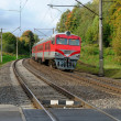 Stock Photo: Train on railway