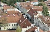 Vilnius old city panorama — Stock Photo