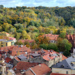 Panorama of a Vilnius autumn season — Stock Photo