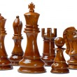 Chess isolated on white background — Stock Photo #7655201