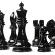 Chess isolated on white background — Stock Photo #7655208