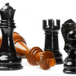 Chess isolated on white background — Stock Photo #7655240