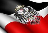 Flag of German Empire — Stock Photo