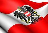 Flag of Austria — Stock Photo