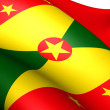 Foto de Stock  : Flag of Grenada