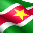 Flag of Suriname — Stock Photo #7211367