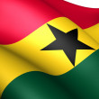 Flag of Ghana — Stock Photo #7236812