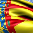 Flag of Valencia — Stock Photo #7246739