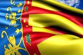 Flag of Valencia — Stock Photo