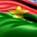 Flag of Burkina Faso — Stock Photo #7312408