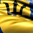Flag of Barbados — Stock Photo #7372554