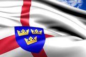 Bandera de east anglia, Inglaterra. — Foto de Stock