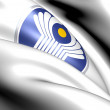 Commonwealth of Independent States emblem - Stock Photo