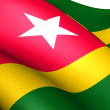 Flag of Togo — Stock Photo